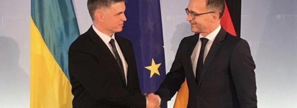 В Україні чекають на приїзд міністра закордонних справ Німеччини