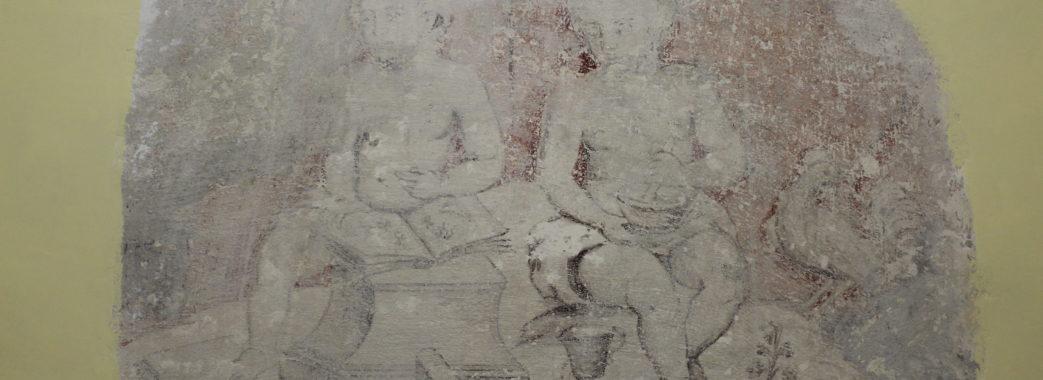 У Бібрській ратуші досліджуватимуть старовинну фреску