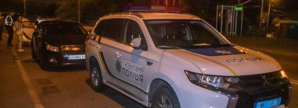 Водій BMW збив поліцейського (ВІДЕО)