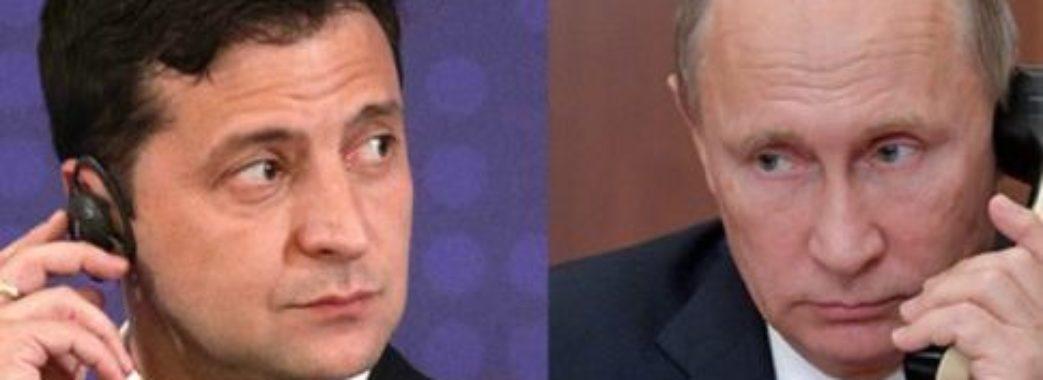 Зеленський привітав Путіна зі святами та обговорив нові списки
