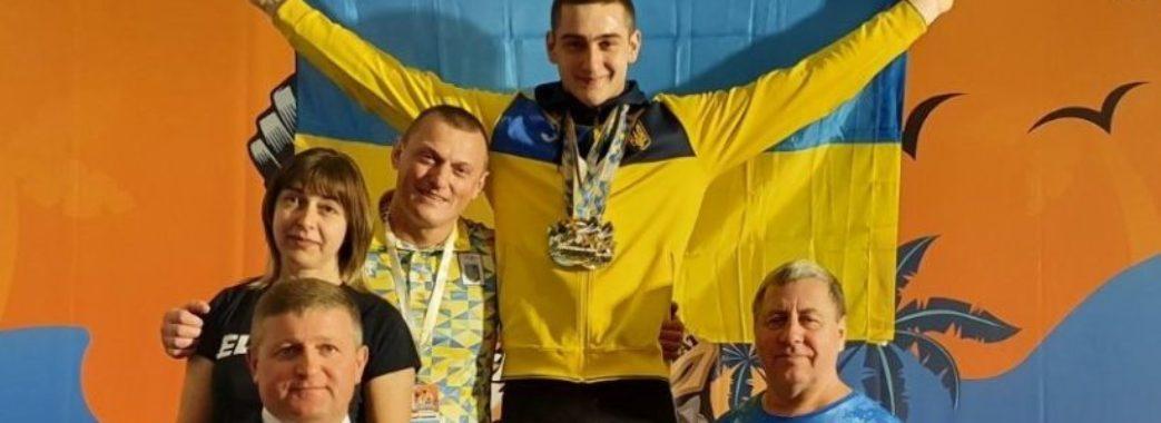 17-річний важкоатлет зі Жидачева став абсолютним чемпіоном Європи