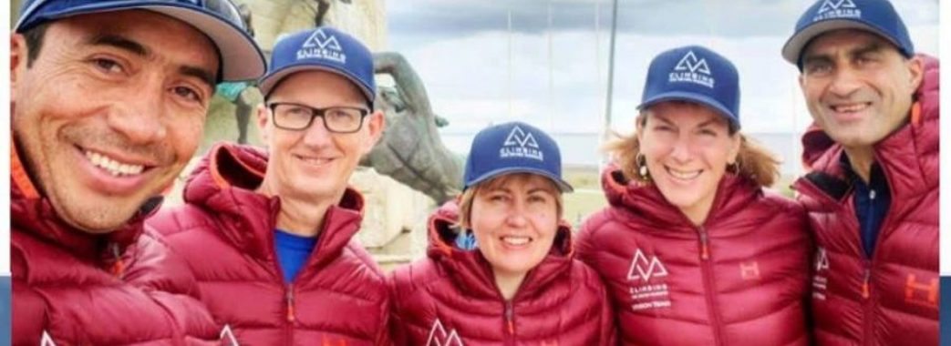 Оксана Літинська зі Львова зійшла на найвищу гору Антарктиди