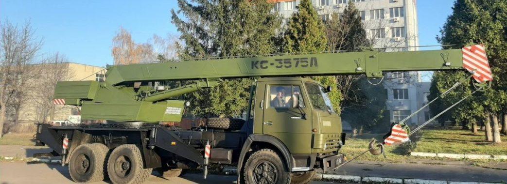 Дрогобицький завод для армії передав партію відновленої техніки