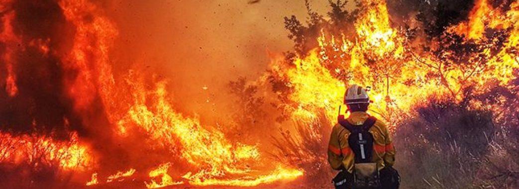 На Львівщині рятувальники гасили 14 пожеж сухої трави