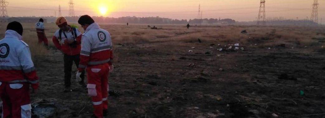 Авіакатастрофа під Тегераном: опублікували списки загиблих (оновлено)