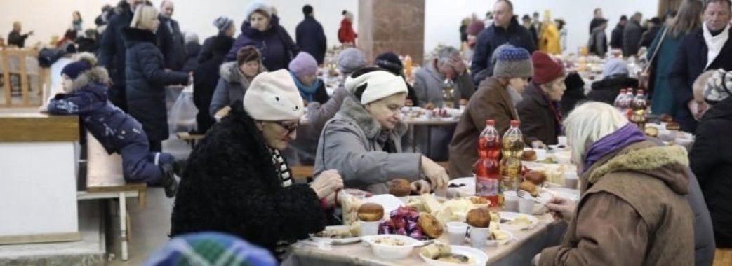 «Оселя» влаштувала благодійну передріздвяну вечерю у Львові