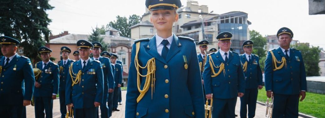 Самбірчанка стала першою жінкою в Україні, яка очолила військовий оркестр