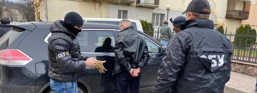 Керівника «Галсільлісу» затримали на гарячому: йому загрожує 10 років тюрми