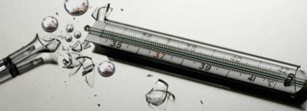Супрун розповіла, що робити, якщо розбився термометр