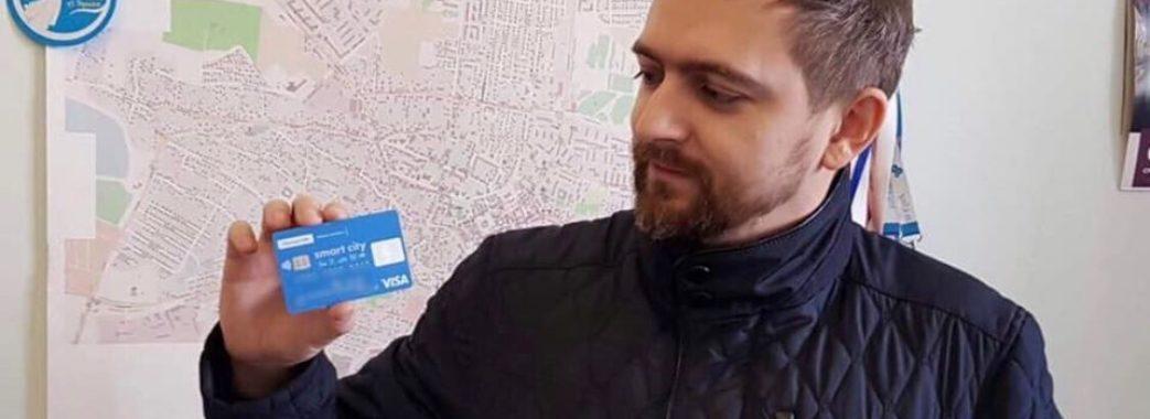 У Дрогобичі за проїзд платитимуть карткою
