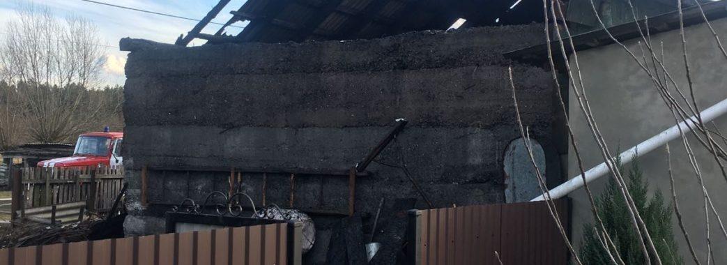 На Жовківщині у пожежі постраждав 20-річний хлопець: згоріло 80% тіла