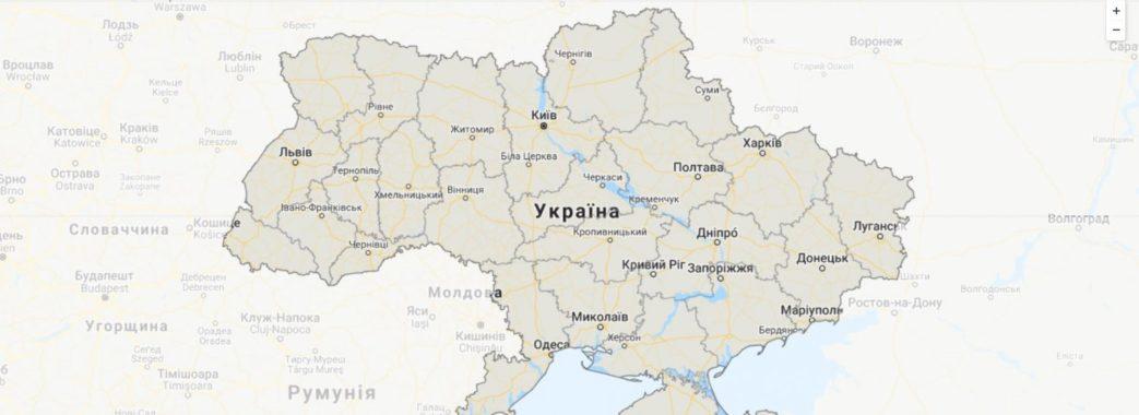 «Укравтодор» розробив інтерактивну мапу доріг