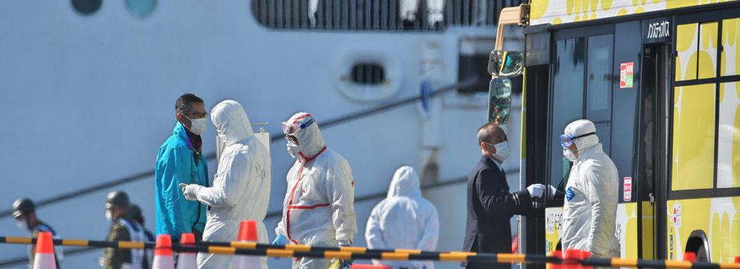 Українка із лайнера Diamond Princess вилікувалась від коронавірусу
