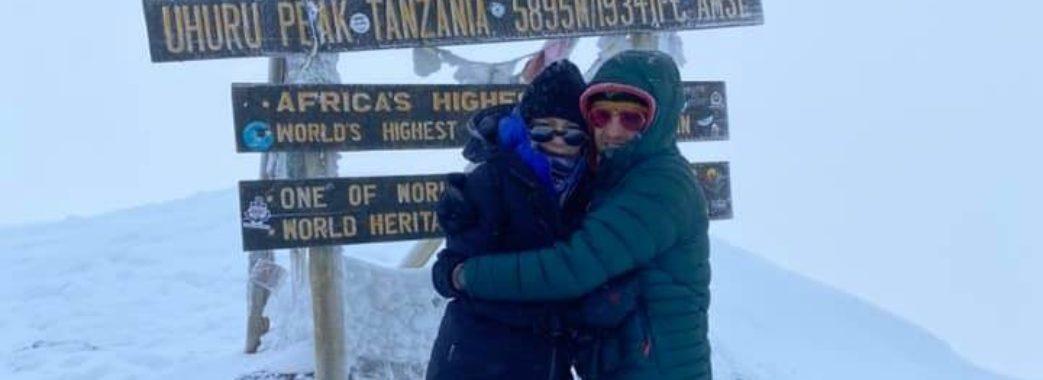 """""""6 ночей спали в наметах"""": подружжя львів'ян підкорило гору Кіліманджаро"""