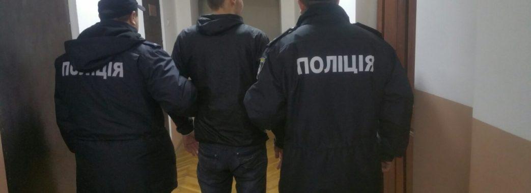 Не встиг винести: у Сокалі поліцейські затримали злодія «на гарячому»