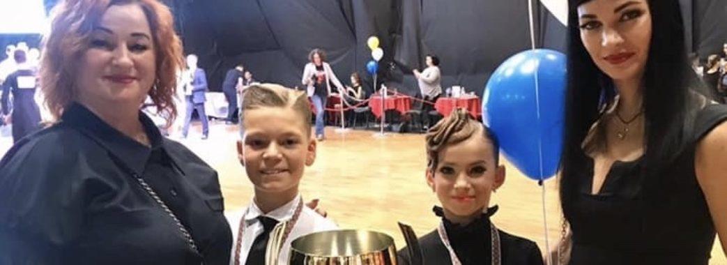 Юні стрийські танцюристи знову стали чемпіонами України