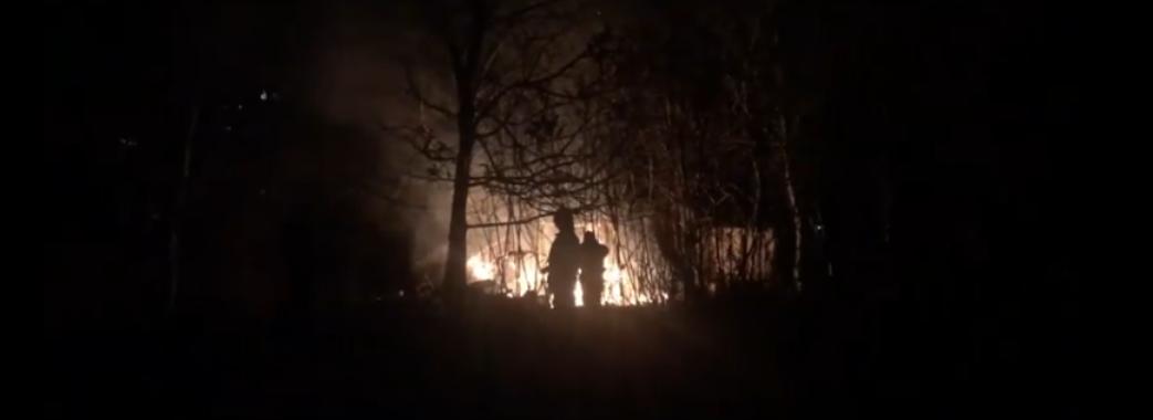 У Львові згоріла споруда, в якій жили безхатьки