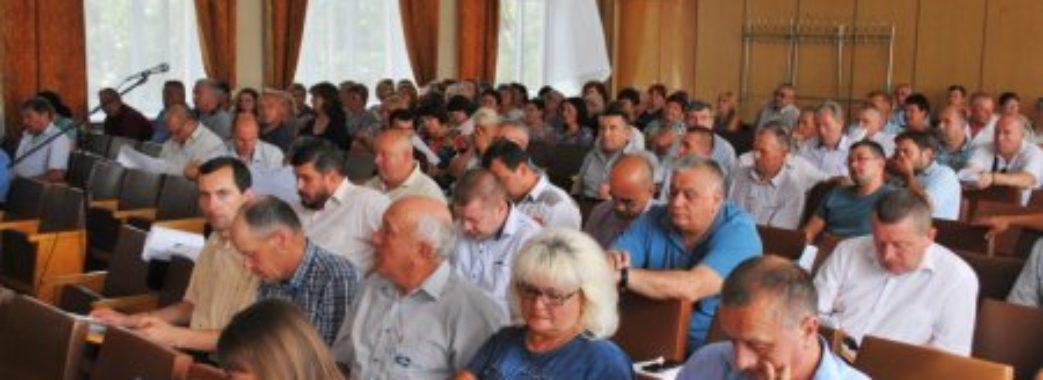 Хочуть нову депутатську групу: у Дрогобицькій райраді самоліквідувалась фракція БПП