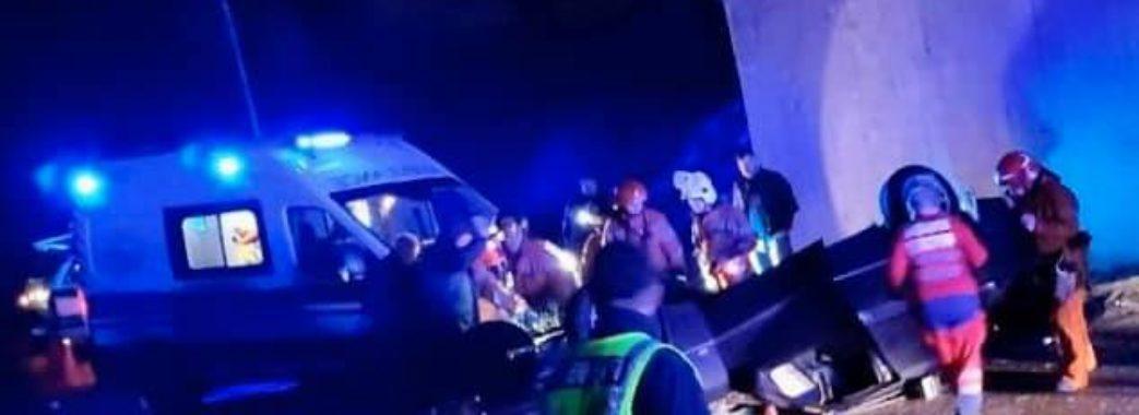 На Жовківщині в ДТП потрапили четверо студентів аграрного університету: є загиблий