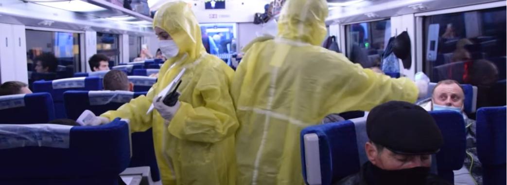 З Польщі в Україну евакуювали 1150 українців (Відео)