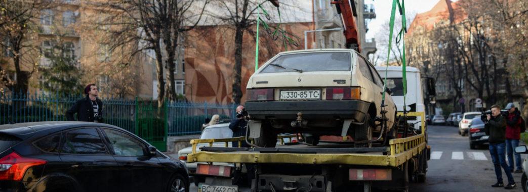 У Львові автомобілі, які перешкоджатимуть руху трамваїв, евакуйовуватимуть