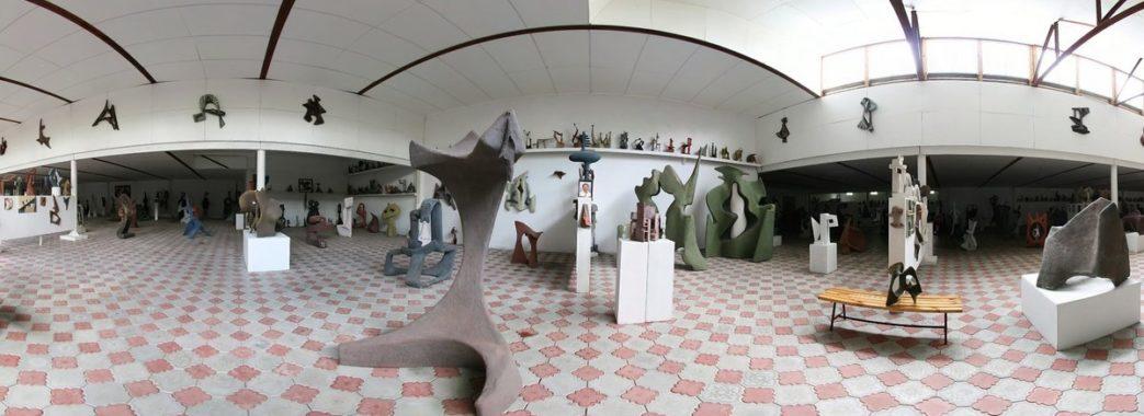 В режим роботи онлайн перейшов Музей модерної скульптури Михайла Дзиндри у Брюховичах