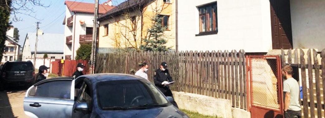 Щоб дотримувались самоізоляції: у Брюховичах перевіряють осіб, які повернулися з-за кордону