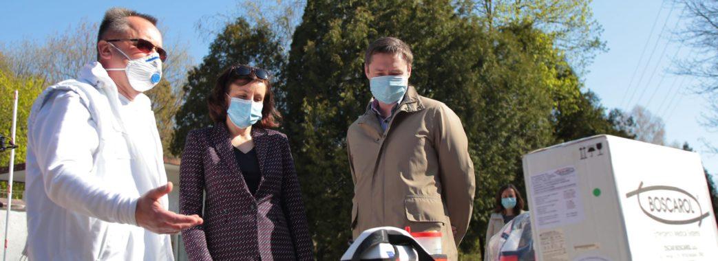 Поляки передали обладнання для Центру легеневого здоров'я у Львові