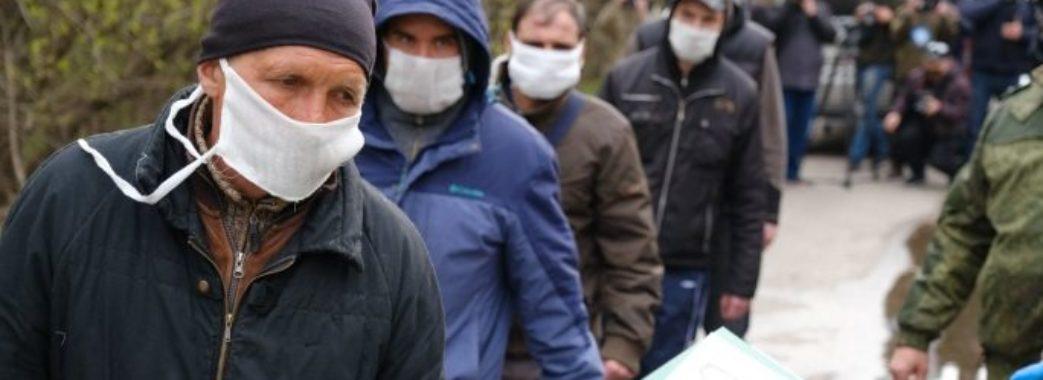 На Донбасі триває обмін полоненими