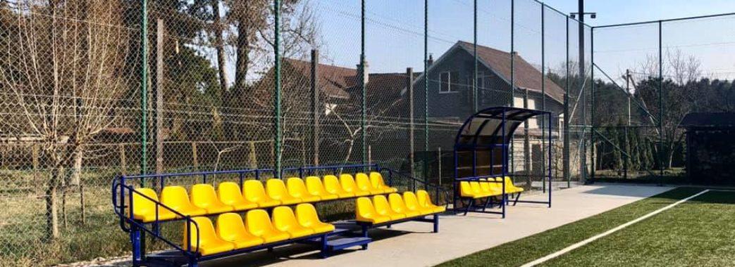 У Брюховичах облаштували новий спортивний майданчик
