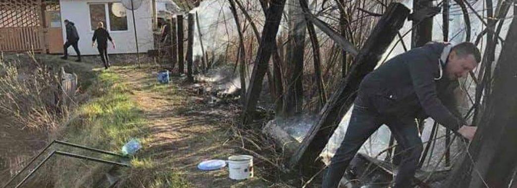 Миколаївські волонтери взялись за боротьбу з паліями сухостою