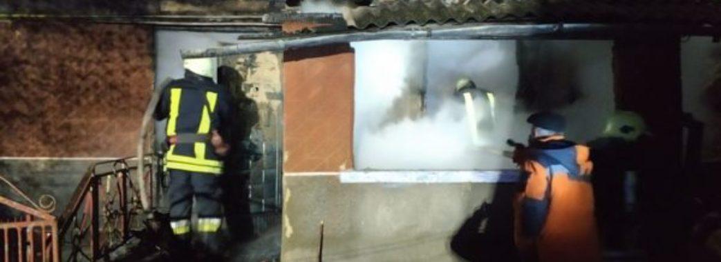 На Самбірщині у нічній пожежі згоріли батько та син