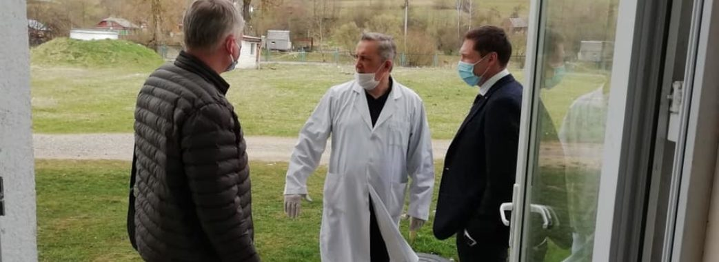 Голова ЛОДА передав медикам Турки, Самбора та Старого Самбора засоби захисту