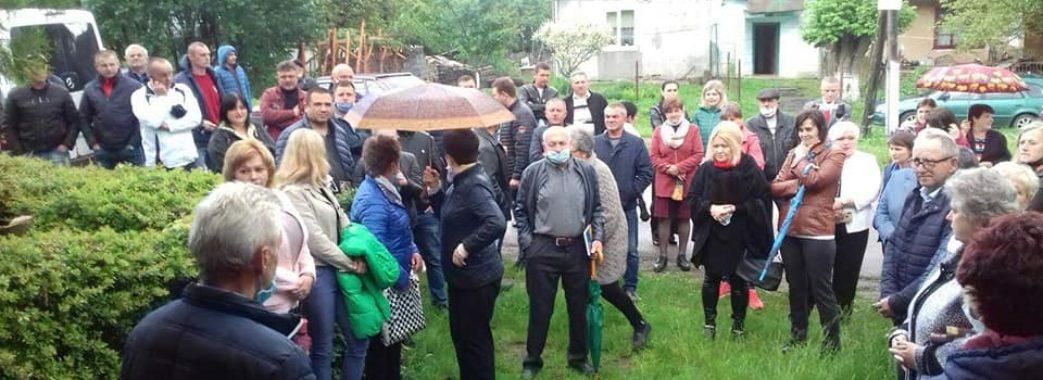 «Будуть акції, суди, але ми відстоїмо свою громаду»: на Львівщині не вщухають протести проти нового Перспективного плану області