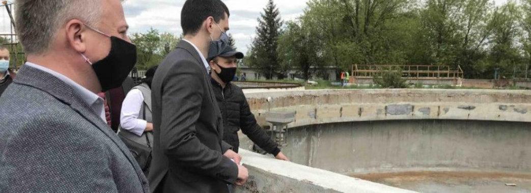 У Червонограді модернізують очисні споруди коштами ЄС, – ЛОДА