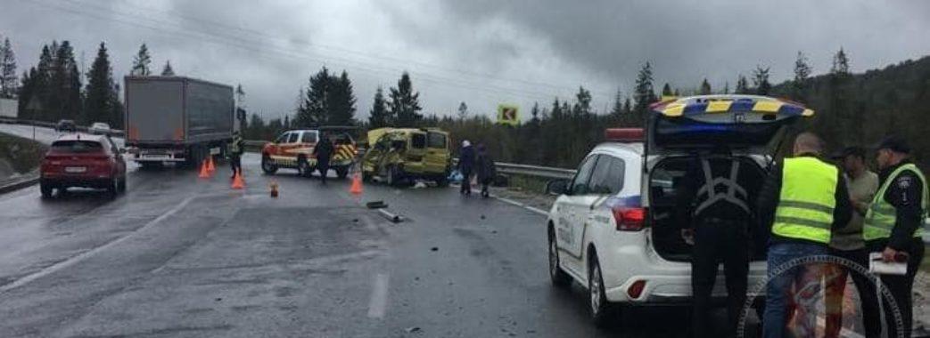 На Сколівщині в аварії загинуло четверо людей