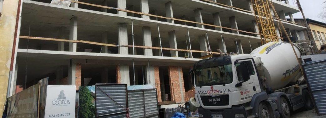 Під час карантину будівельні компанії не припиняли роботу
