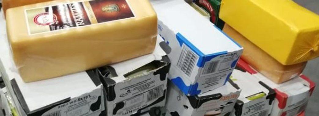 У Львові вилучили більше 3 тонн елітного сиру