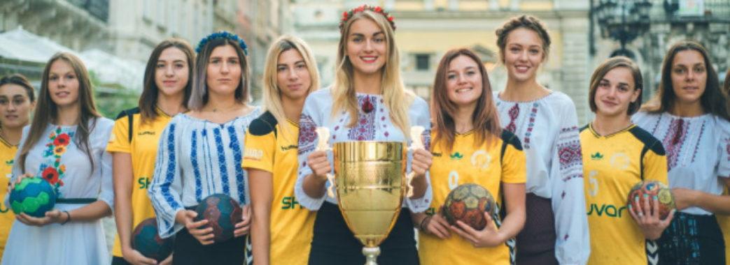 Львівські гандболістки стали чемпіонками України
