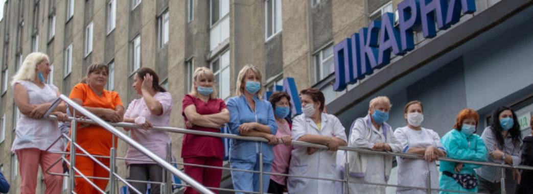У львівських лікарнях залишилося мало місць для пацієнтів з коронавірусом