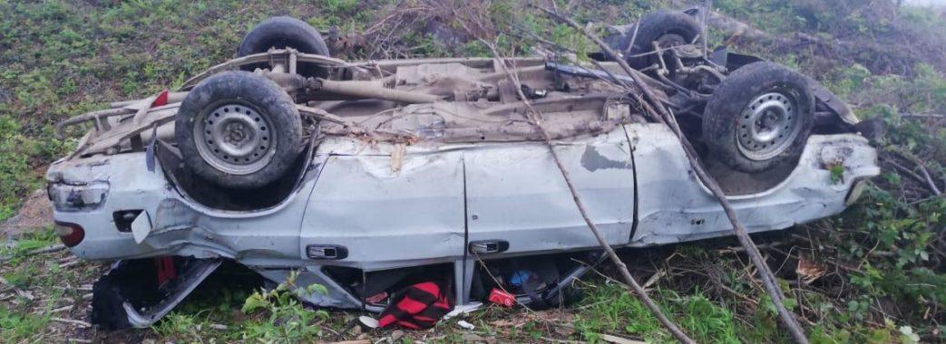 На Сколівщині в аварії загинув 19-річний юнак, ще троє молодих людей у лікарні