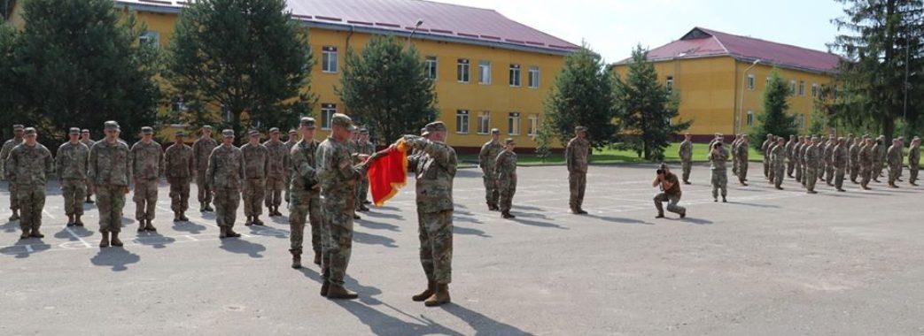 Американські військові, які тренують українських захисників на Яворівщині, пройшли ротацію