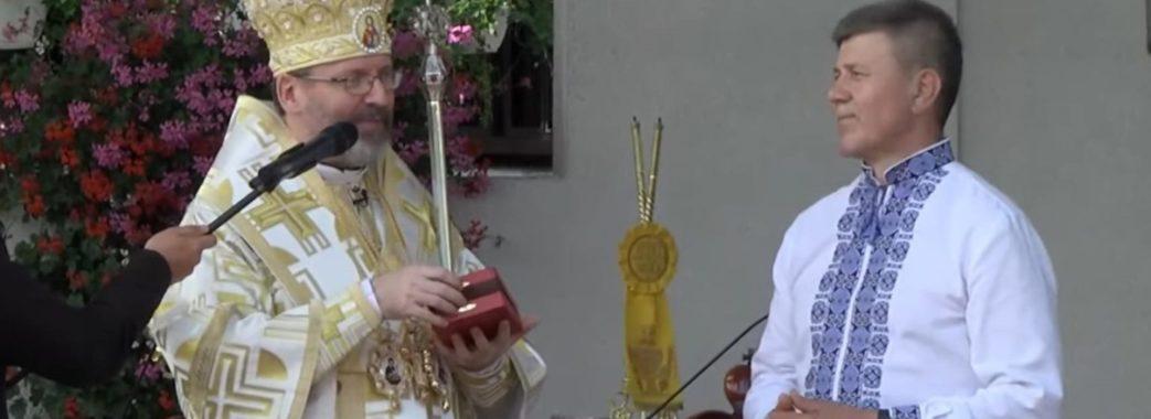 Діячеві Івану Васюнику вручили найвищу нагороду церкви (Відео)