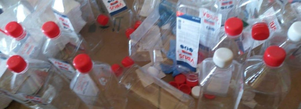 У Стрию підприємці виготовляли токсичні антисептики