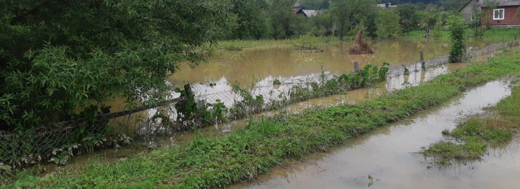 Штормове попередження: у річках Львівщини знову очікують підняття води