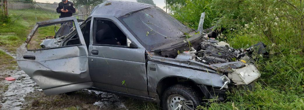На Турківщині водій вчинив дорожню аварію і втік з місця пригоди