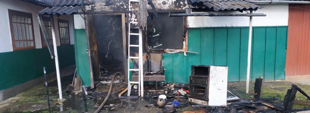 """""""Прийшов до будинку батьків"""": на Жидачівщині під час пожежі загинув чоловік"""