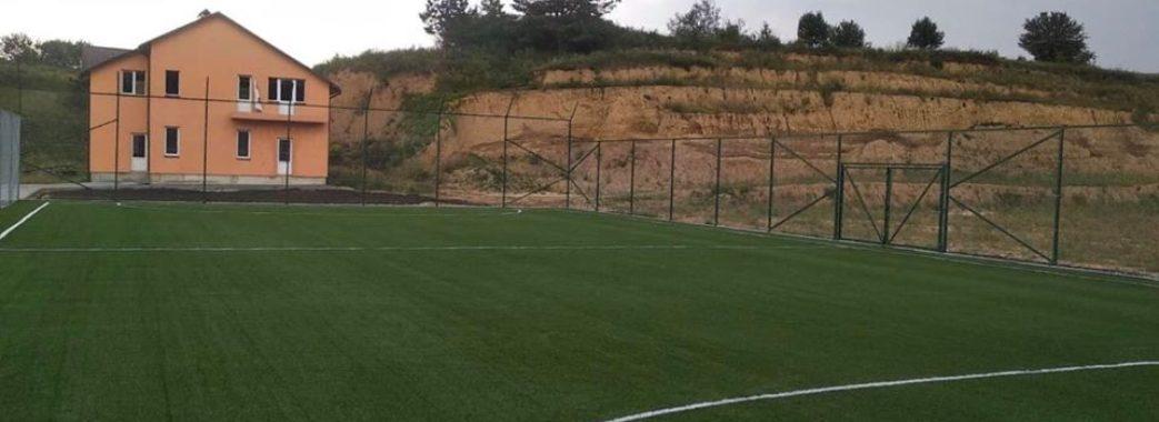 На Жовківщині та Яворівщині добудовують сучасні спортивні майданчики