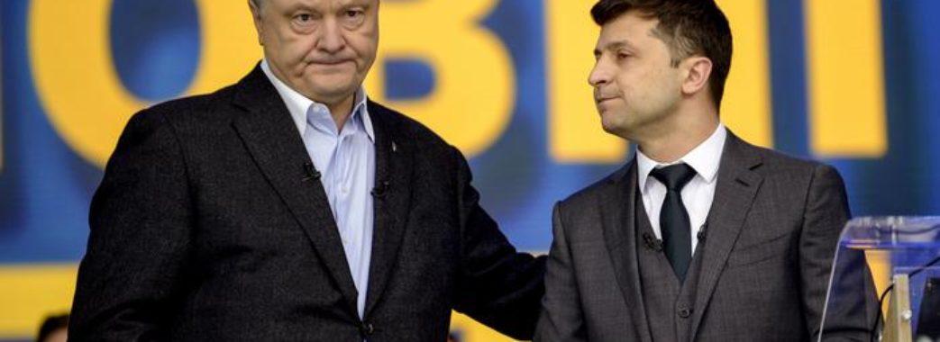 Свіжий президентський рейтинг: лідери Зеленський і Порошенко