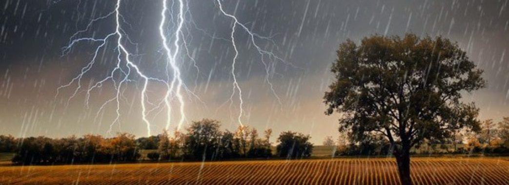 Град, шквали та грози: на Львівщині оголосили штормове попередження